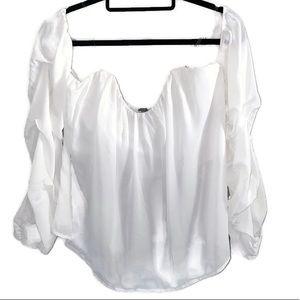 long sleeve / sleeveless crop top NWT SZXL